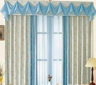 英式田园窗帘图片