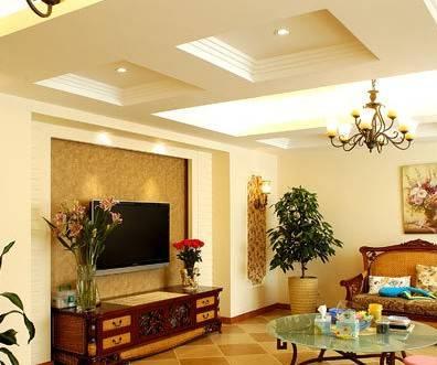 吊顶 小户型吊顶装修效果图    家居装修中,客厅装修或奢华品质,或