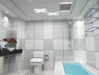 卫生间集成吊顶的主要特点和优势