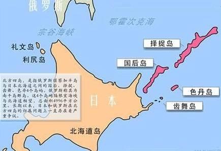 日俄北方四岛领土争端又起