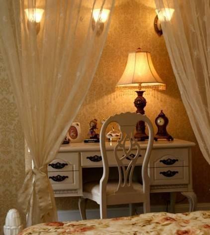 欧式风格窗帘壁纸