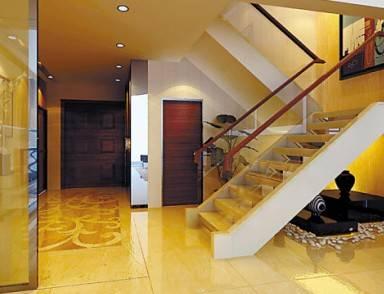 欧式风格楼梯颜色搭配
