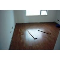地板铺装现场