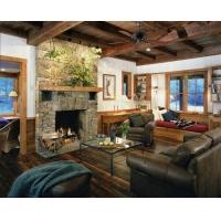 美式地板之开放客厅装修