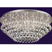 现代风格银色水晶灯
