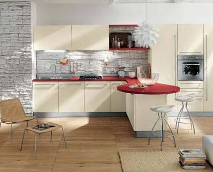 开放式厨房装修效果图鉴赏【最新】图片
