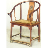 黄花梨木圆椅·明· 通高930mm
