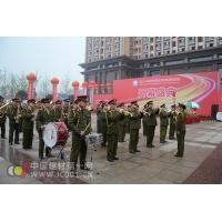 """在庄严激昂的军乐队演奏中,""""2011中国西部国际照明电器博览会""""拉开了帷幕。"""