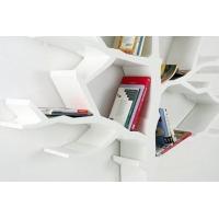 2、韩国设计师Shawn Soh设计的树形书架--Tree Book shelf,像一颗长在墙上的树,美观实用。
