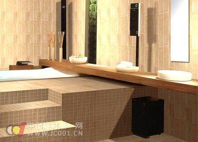 2011瓷砖设计七大趋势 仿石立体仍是主流