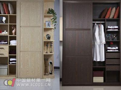 框架结构衣柜:是由立柱与板材组合而成.立柱主要是由铝锭压铸而成.