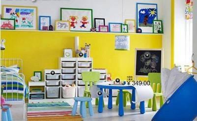 儿童房涂料装修