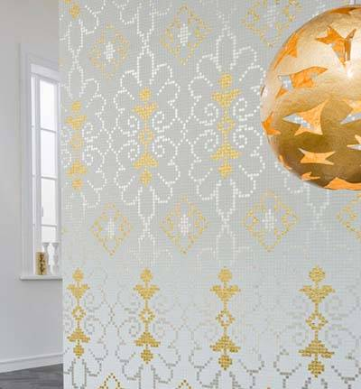 家居DIY <a href='http://www.mooaoo.com' target='_blank'>马赛克</a>瓷砖的艺术范儿0