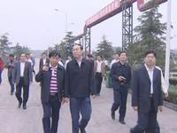 河南鹤壁市长调研陶瓷产业园