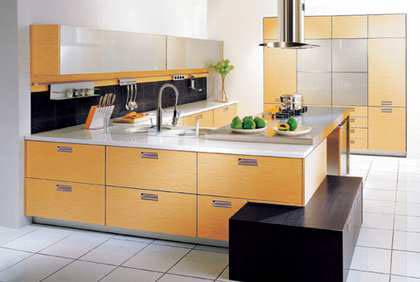 付了首付,預支未來的工資收入簽簡約櫥櫃打造簡約高雅的廚房生活