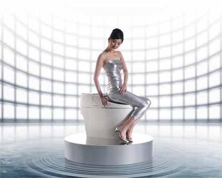 美女与卫浴 演绎新品 养眼动心组图