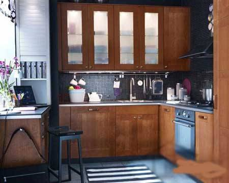 2010宜家厨房装修样板效果图(组图)