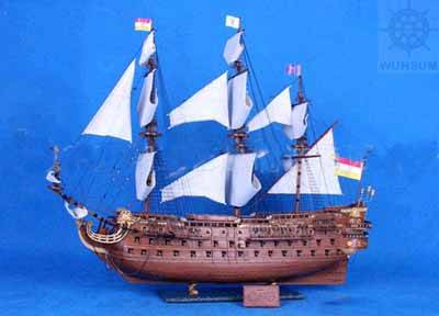 帆船模型设计图展示