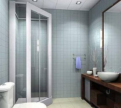 卫浴间装修效果图 集成吊顶领导卫浴行业新时尚 制胜传统高清图片