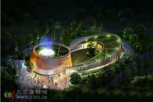 青岛世园会园艺文化中心主体钢结构工程顺利封顶