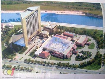 中国二十二冶中标赤峰玉龙国宾馆钢结构工程