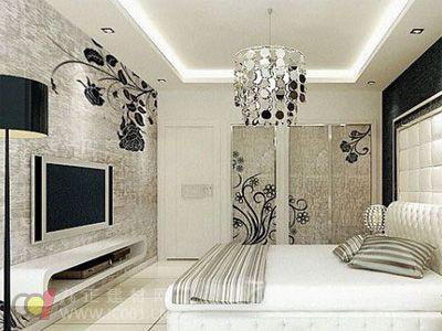 2013年卧室壁纸装修效果图