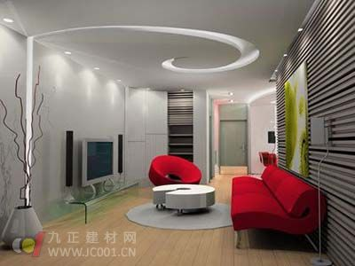 2013年客厅吊顶装修效果图【组图】