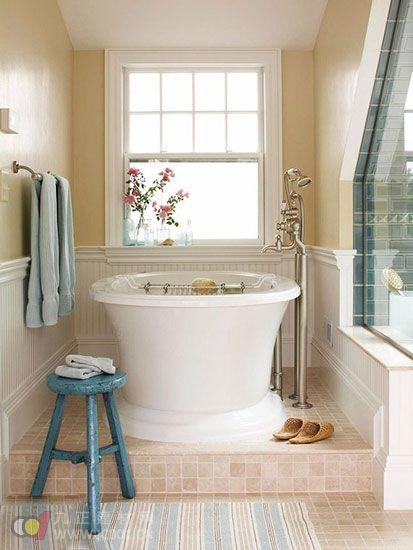 小户型浴缸装修效果图大全(组图)