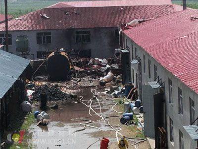 哈尔滨保温材料厂发生爆炸  警惕安全事故发生