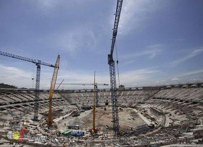 巴西世界杯场馆与基建疯狂 拉动建材销售