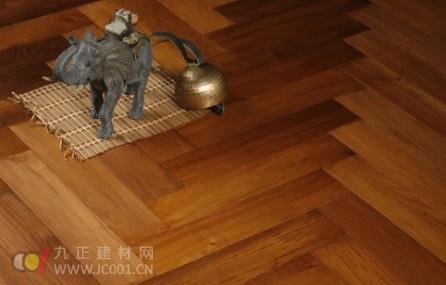木塑地板试产成功 环保不变形