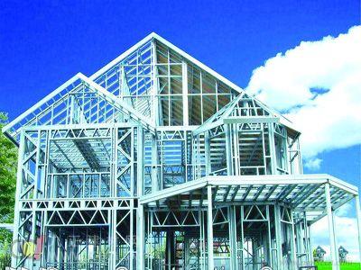 钢结构住宅可消化亿吨钢铁 缓解产能过剩