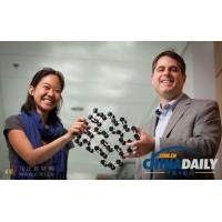 科学家发现最薄玻璃 只有一个分子厚