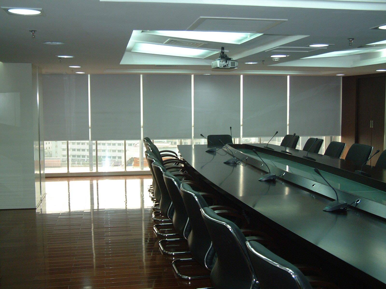 老总办公室窗帘_老总办公室窗帘效果图