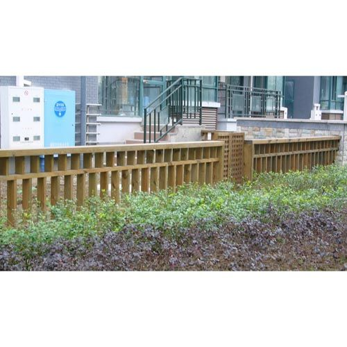 南京防腐木-森联木业-防腐木栅栏