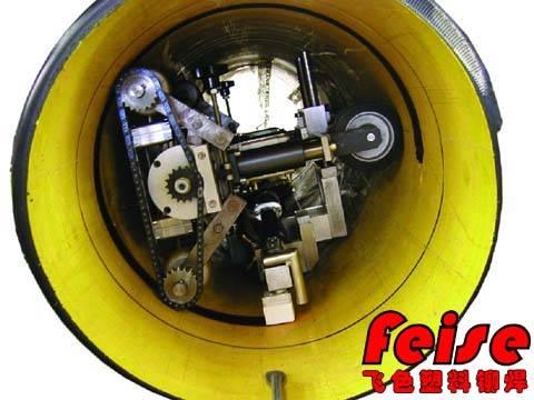 塑料管道内壁环缝预铣削加工 焊接机器人