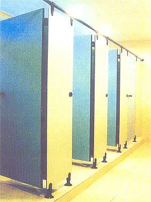 台丽塑钢门 浴厕隔断系列 2