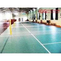 羽毛球场地地板,羽毛球PVC运动地板