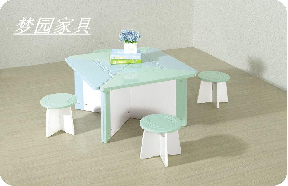 儿童桌椅 儿童饭桌套装 儿童家具 梦园家具