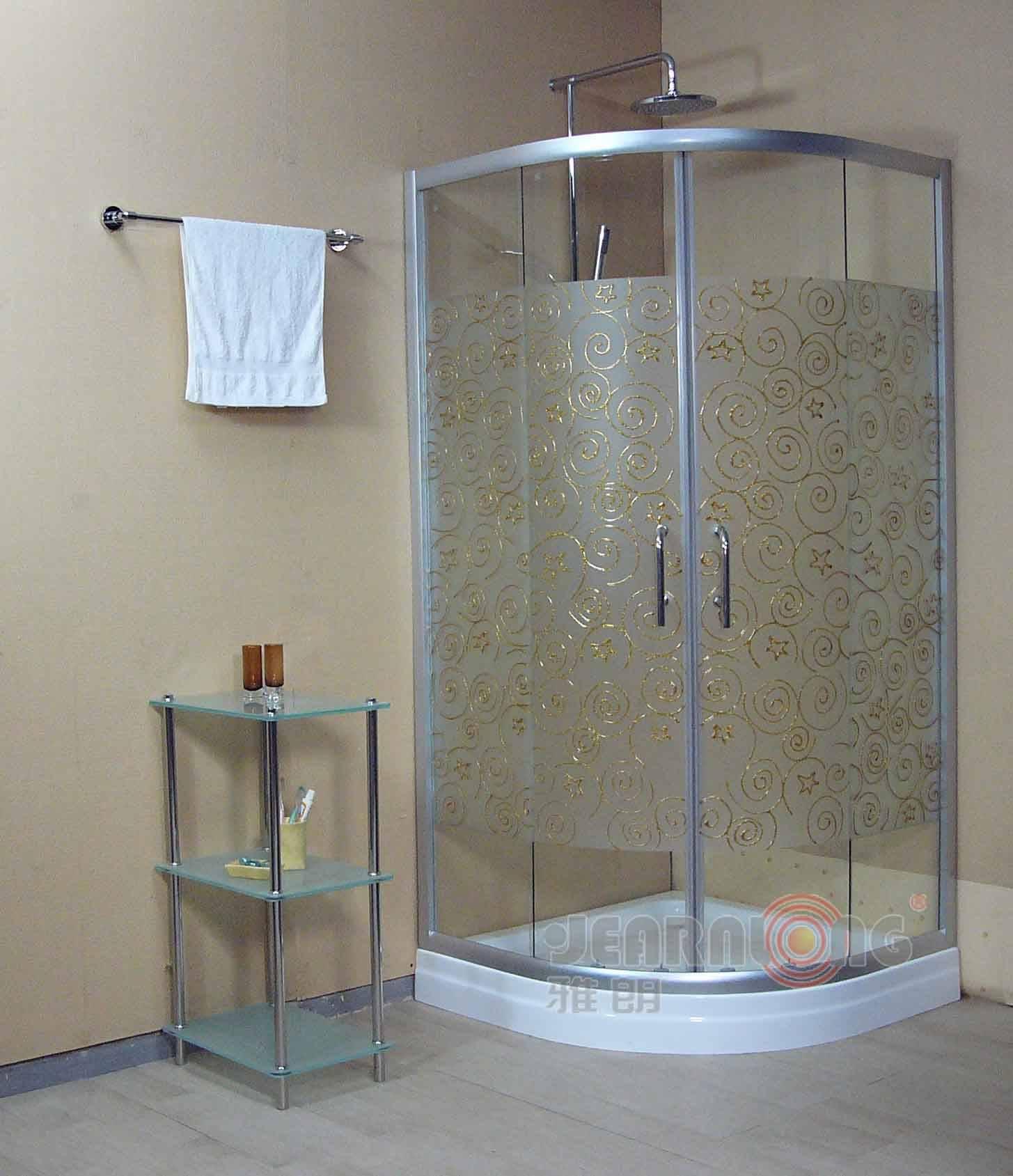 淋浴房地砖凹槽效果图