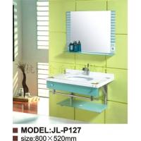 供应实玻璃浴室柜系列