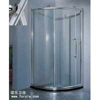 大飞轮扇形淋浴房,1.2mm国标铝材沐浴房定做,弧形淋浴房