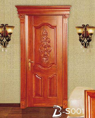 欧式古典实木雕花室内门