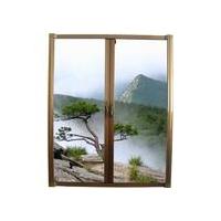 自然景隐形纱门窗
