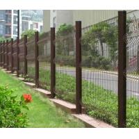 新乡桃型柱护栏网/浸塑小区护栏网