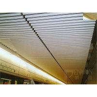 鵬龍鋁天花-圓管條形天花系統