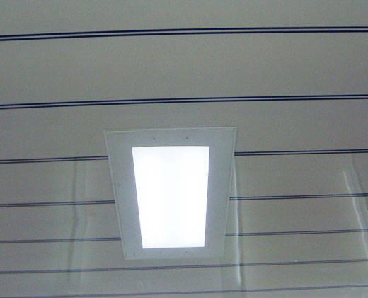 海创PVC扣板 天花 吊顶 PVC扣板 整体集成吊顶 嵌入式大平面照明