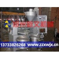 大豆榨油机就是螺旋全自动榨油机,该设备分为液压和榨腔两部分
