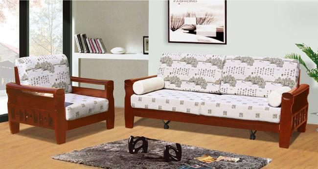 沙发木架图片; 木架布艺沙发产品图片