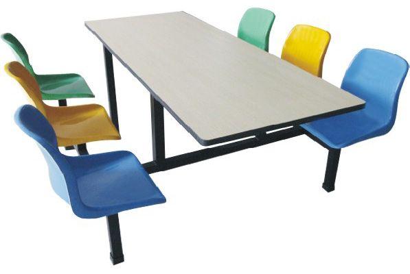 供应顺德餐桌椅不锈钢餐桌椅食堂餐桌椅